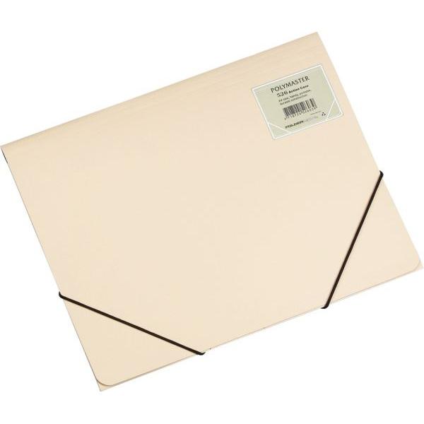 Foldermate Polymaster Action Case A4 - Beige (box/30pcs)