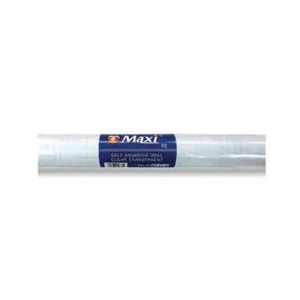 Maxi MX-CL10 Self-Adhesive Roll 10m x 45cm - Clear (pc)