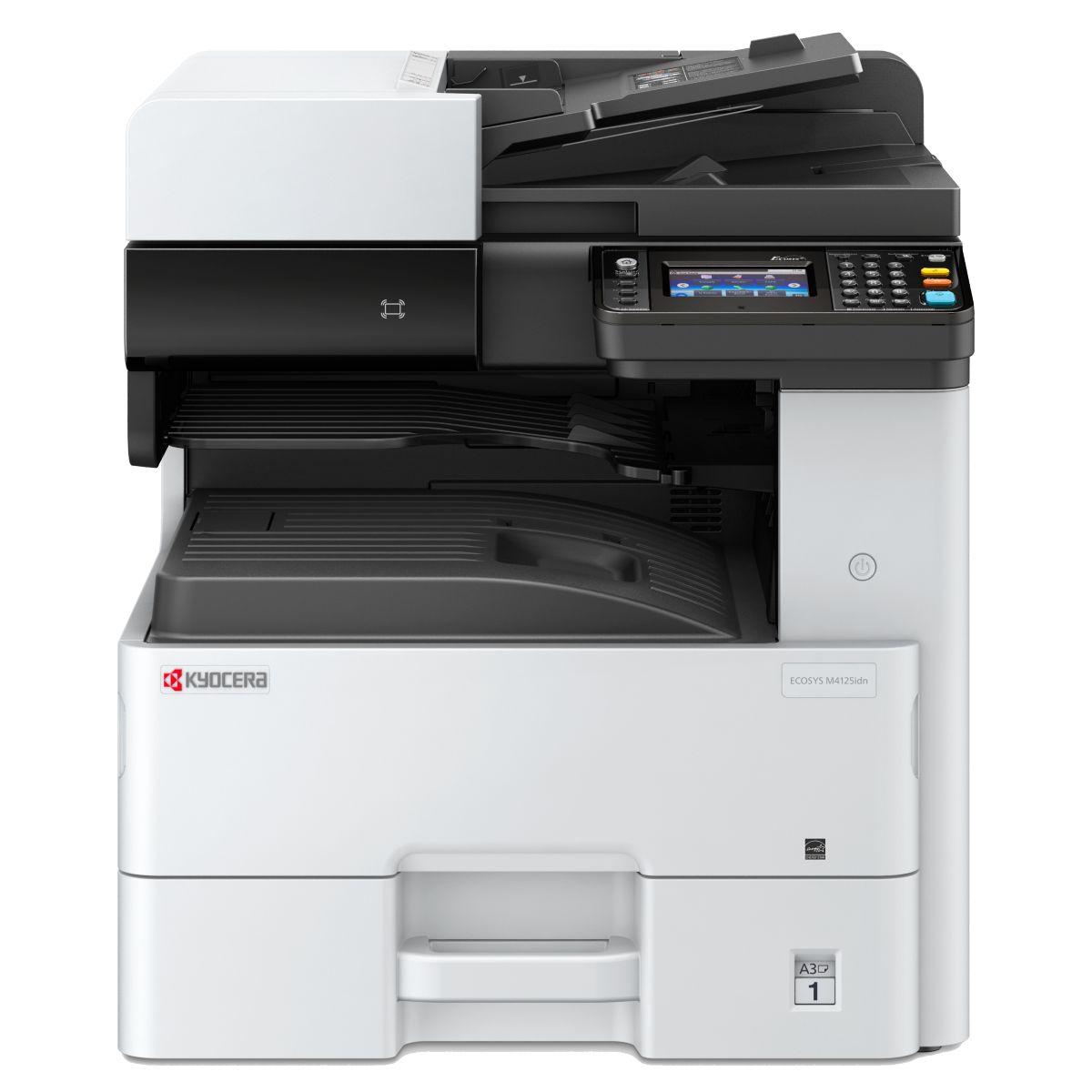 Kyocera M4125idn Multifunction Black & White A3 Printer
