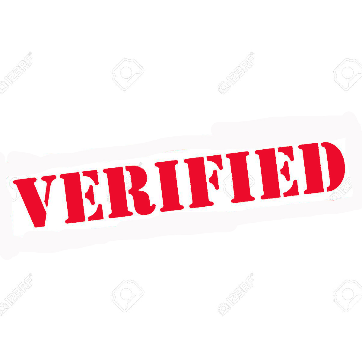 VERIFIED Stamp - Red (pc)