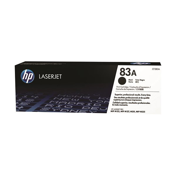 HP 83A (CF283A) Original Toner Cartridge - Black