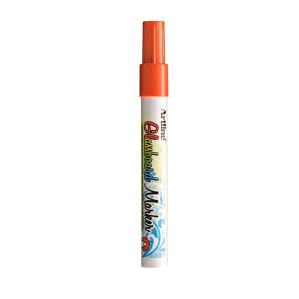 Artline ARMKEPG-4FOR Fluorescent Bullet Glassboard Marker 2.0 mm - Orange (pc)