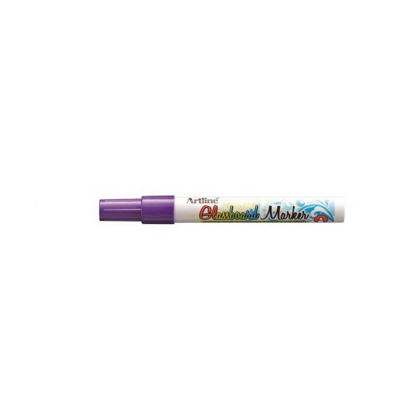 Artline ARMKEPG-4PU Fluorescent Bullet Glassboard Marker 2.0 mm - Purple (pc)
