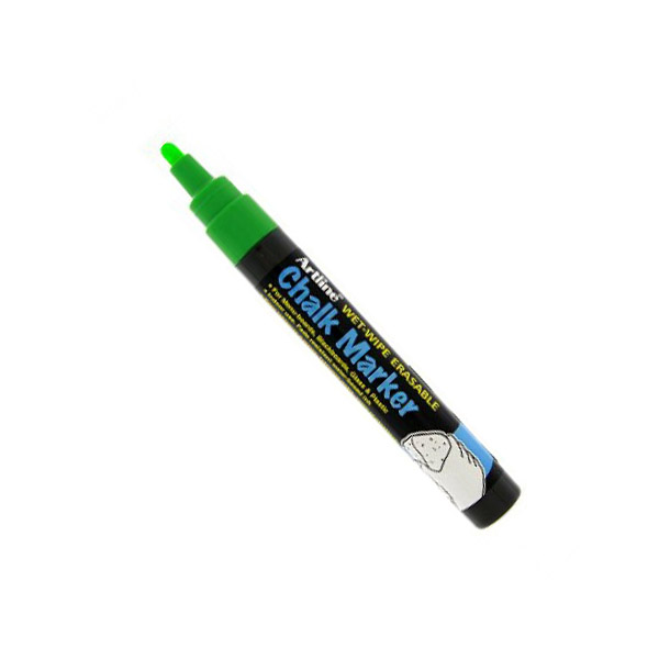 Artline 4974052 838231 Chalk Marker 2.0mm - Green (pkt/12pcs)