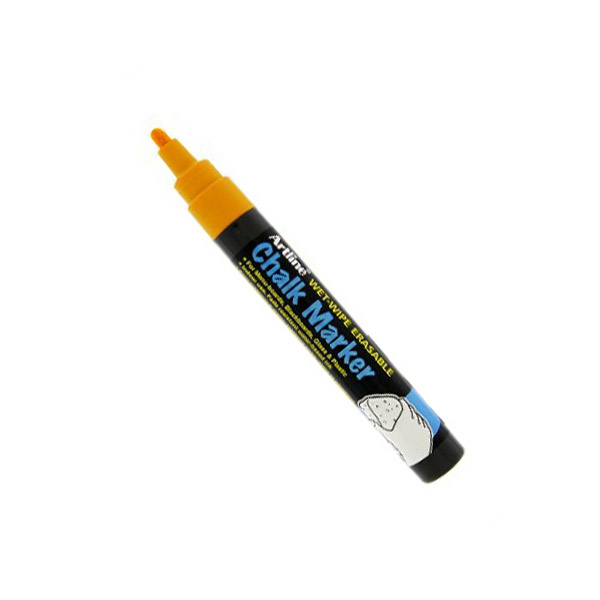 Artline 4974052 838248 Chalk Marker 2.0mm - Orange (pc)