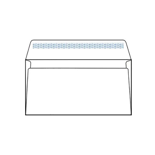 Topstar Envelope 115mm x 225mm DL - White (box/1000pcs)