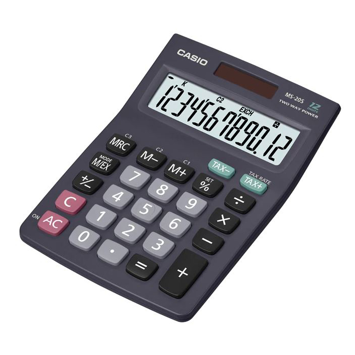Casio MS-20S 12-Digit Calculator