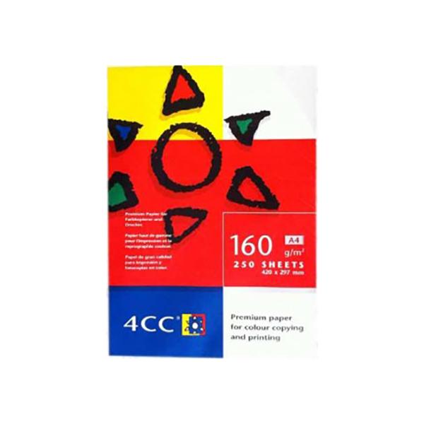 4CC Photocopy Paper 160gsm - A4 (ream/250s)