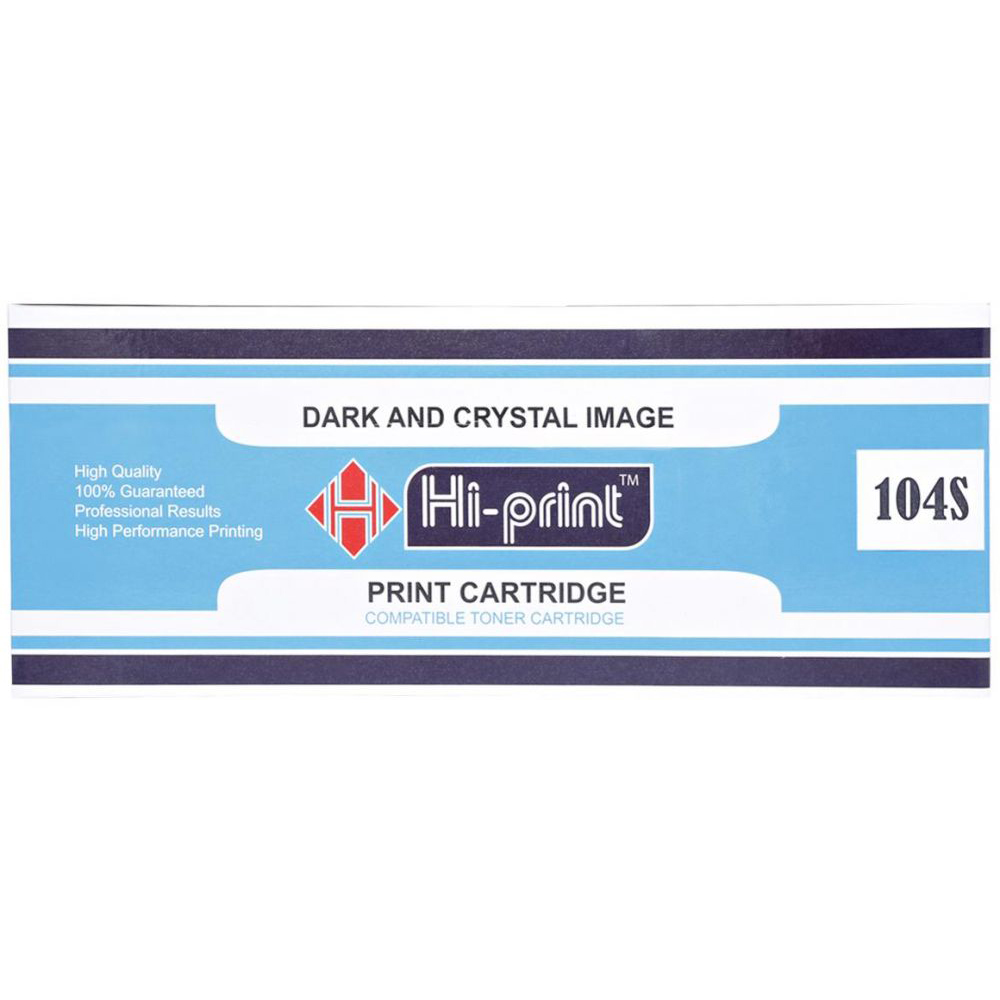 Hi-Print 104s Compatible Toner Cartridge - Black
