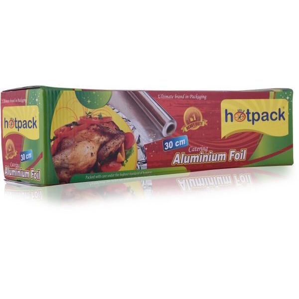 Hotpack Standard Aluminum Foil (AF30150HPF) - 30cm x 150m (box/6roll)