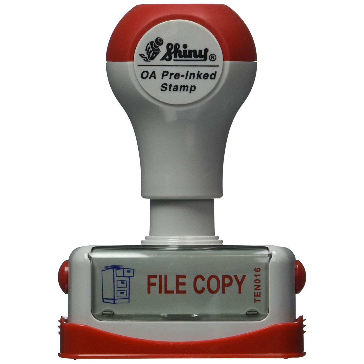 Shiny Pre-Inked FILE Stamp (pc)