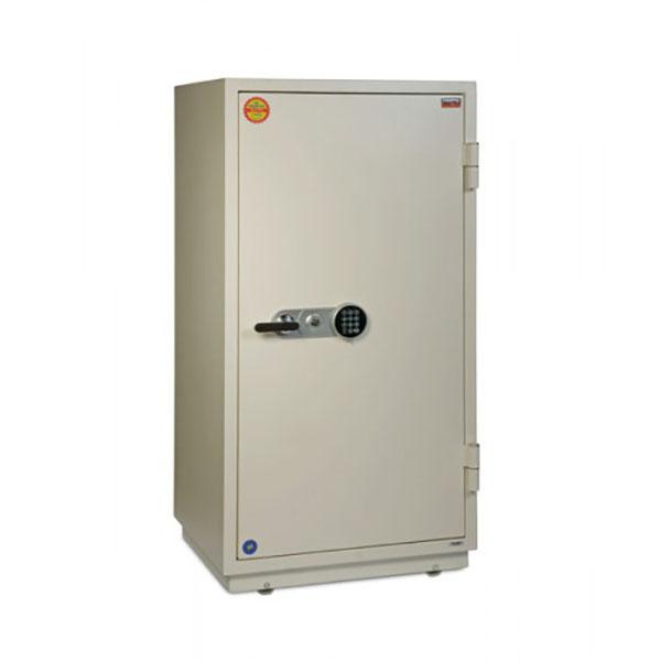 Valberg FRS-133 EL Digital and Key Lock Fire Resistant Safe - White