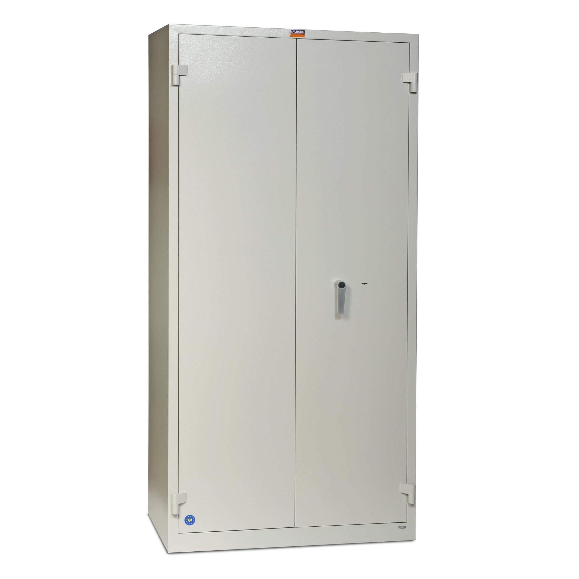 Valberg BM 1993-KL Cabinet Key Lock Fire Resistant Safe - Grey