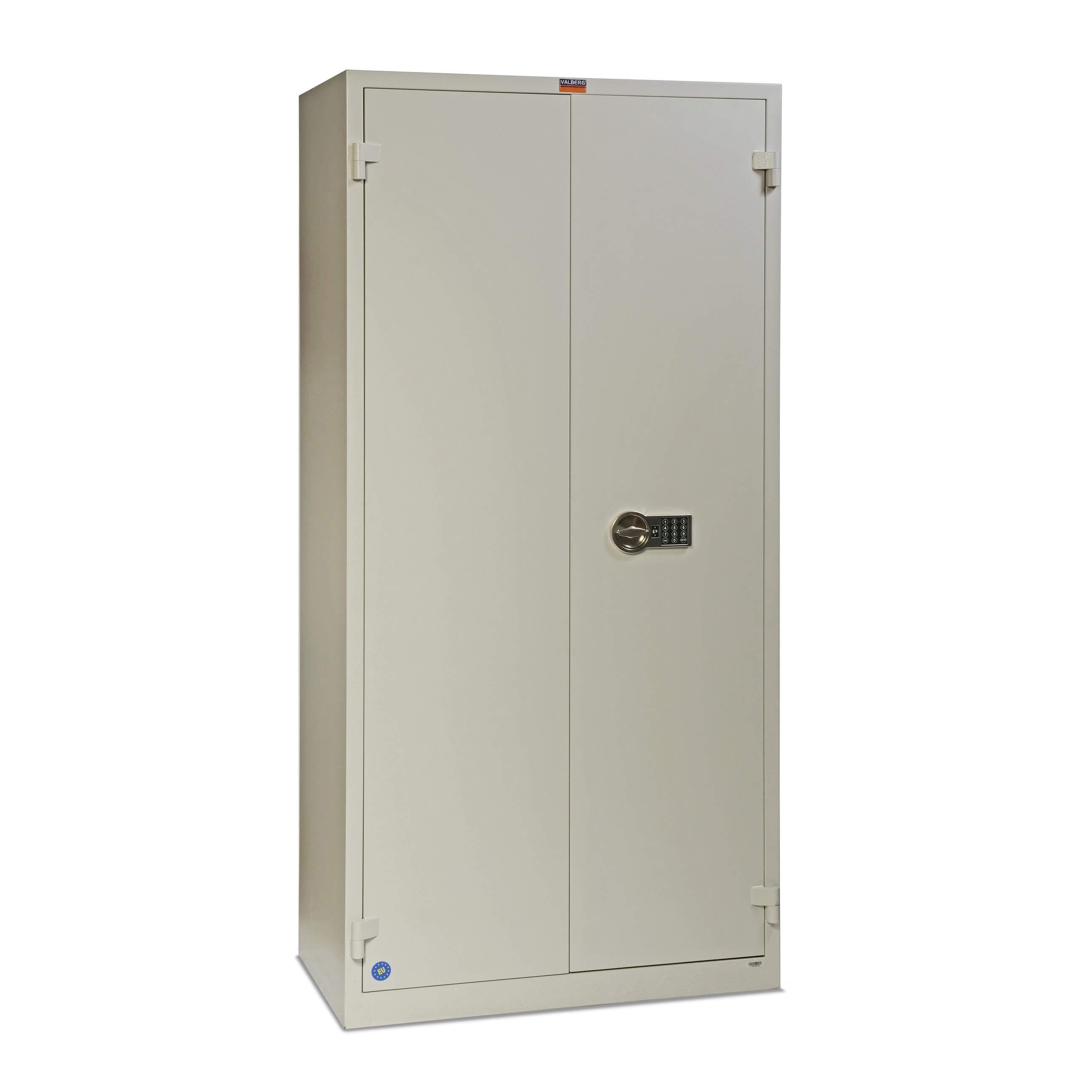 Valberg BM 1993-EL Cabinet Digital Lock Fire Resistant Safe - Grey