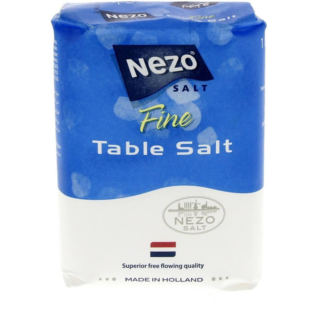 Nezo Fine Table Salt - 1kg (pc)