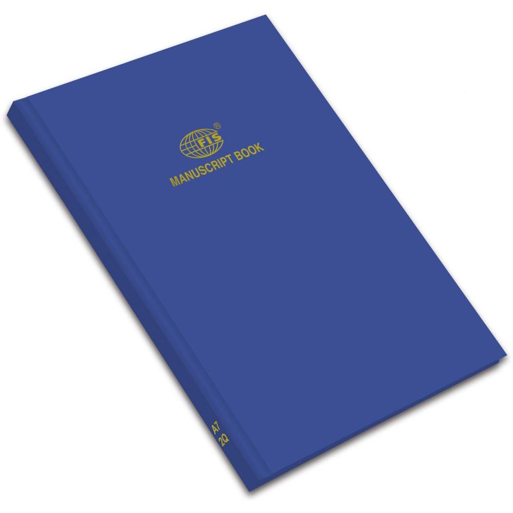 FIS Manuscript Book 2Q A7 FSMNA72Q - Blue (pc)