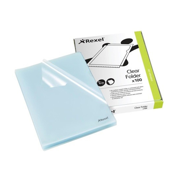Rexel CKF 12215 L-Type Folder - A4 (Pkt/100pc)