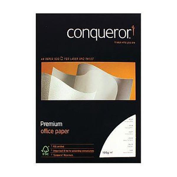 Conqueror Wove A4 100gsm Paper - Diamond White (ream)