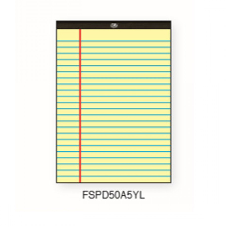 FIS Writing Pad A5 FSPD50A5YL - Yellow (pc)