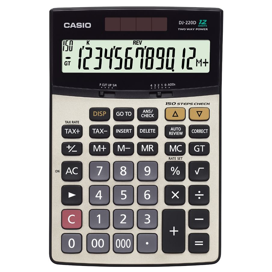 Casio DJ-220D Calculator