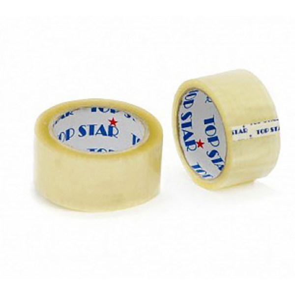 Topstar 40mic Clear Packaging Tape - 2in x 100yds (Box/36pc)