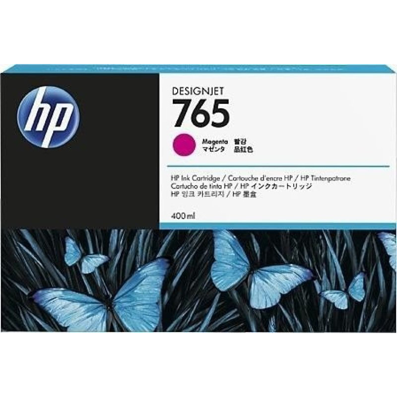 HP HP 765 400-ml Designjet Ink Cartridge (F9J51A) - Magenta