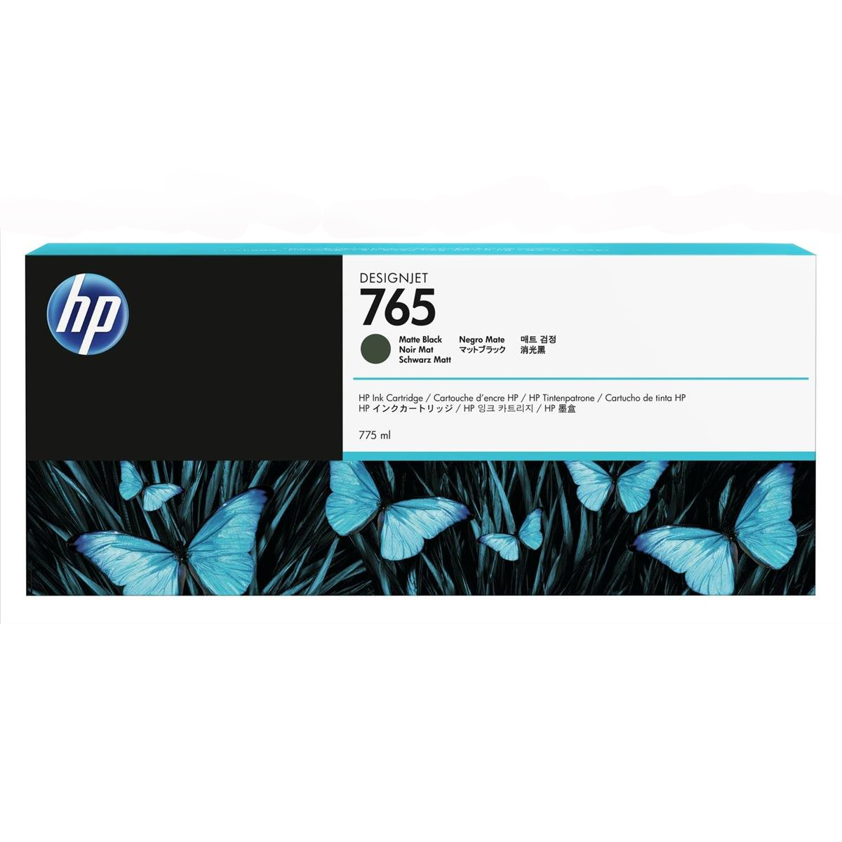 HP 765 775-ml Designjet Ink Cartridge (F9J55A) - Matte Black