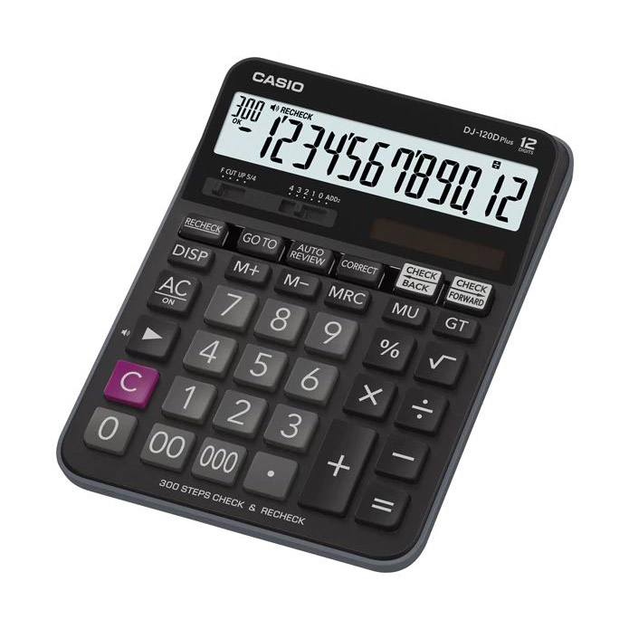Casio DJ-120D Plus Calculator