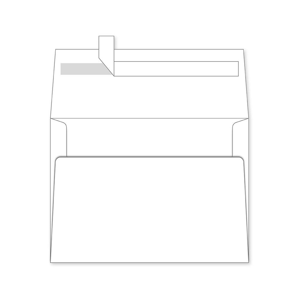 Topstar Envelope A6 4 x 6in - White (pkt/50pcs)
