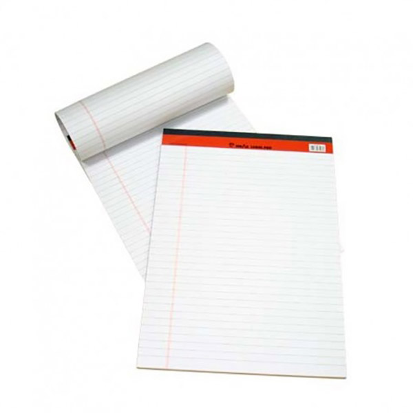 Sinarline Writing Pad 50-sheets A5 - White (pkt/10pcs)