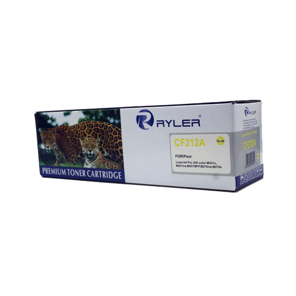 Ryler 131A (CF212A) Compatible Toner Cartridge - Yellow