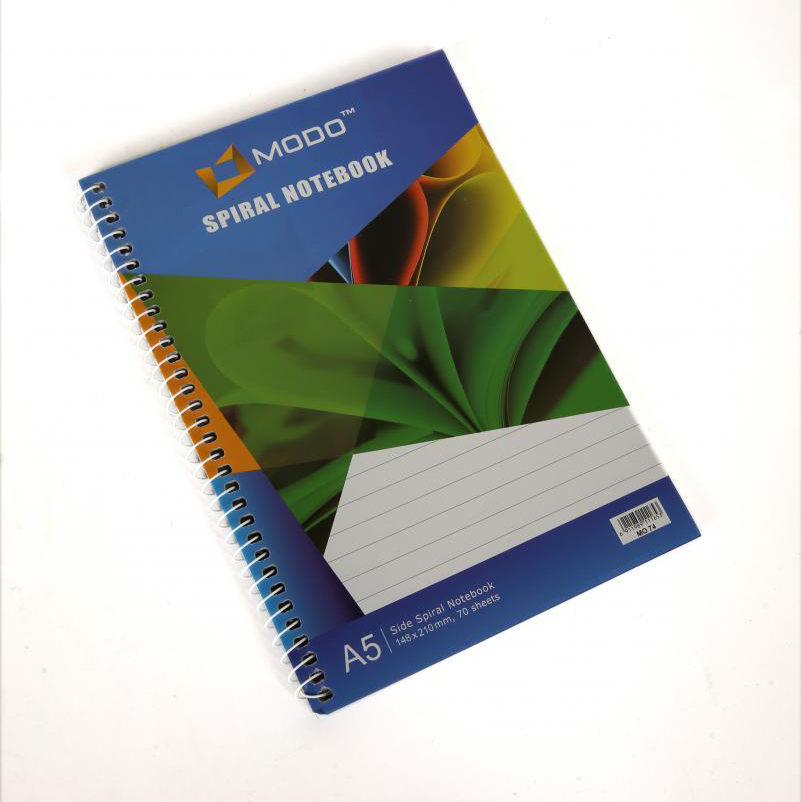 Modo MO74 Side-Spiral 70-sheets Notebook - A5 (pc)
