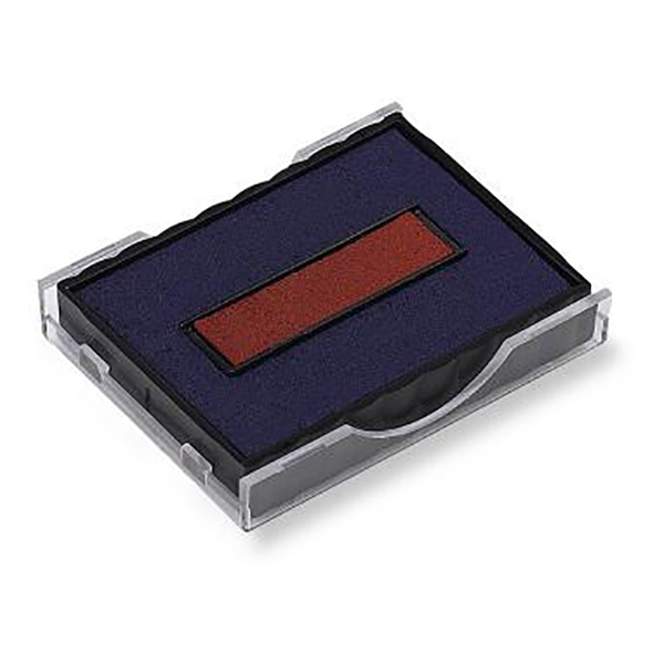 Shiny S-400-7D Replacement Ink Pad - Blue & Red (pc)