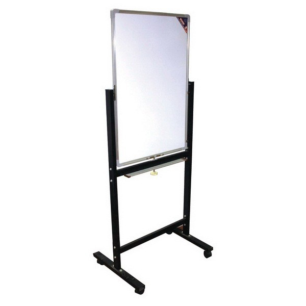 Partner DSB6090 Double-Sided Magnetic Whiteboard with Stand - 60 x 90cm (pc)