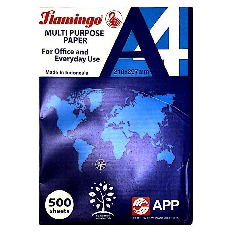Flamingo Photocopy Paper  - A4 (Ream/500s)