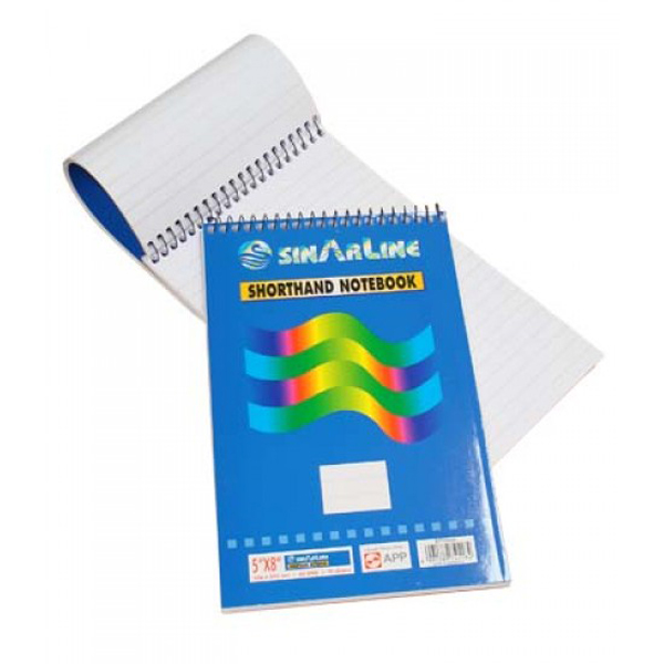 Sinarline Shorthand Top Spiral - A5 (pkt/12pcs)