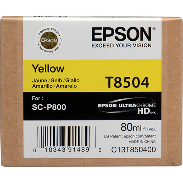 Epson T850400 Ink Cartridge - Yellow