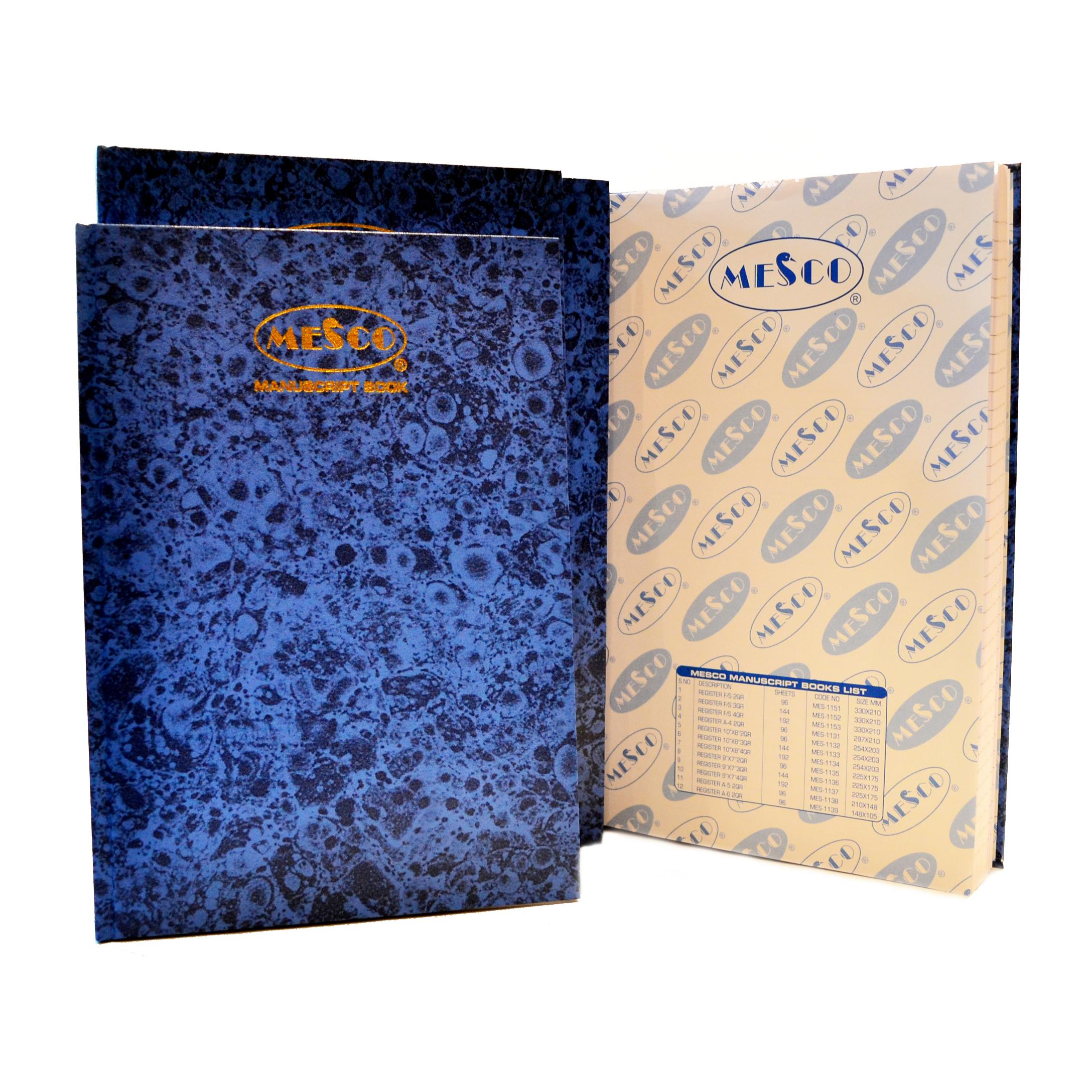Mesco MES-1153 Manuscript Book 4Q - FS (pc)