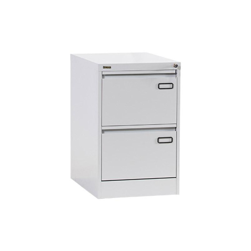 Rexel RXL302ST 2-Drawer Filing Cabinet - Grey