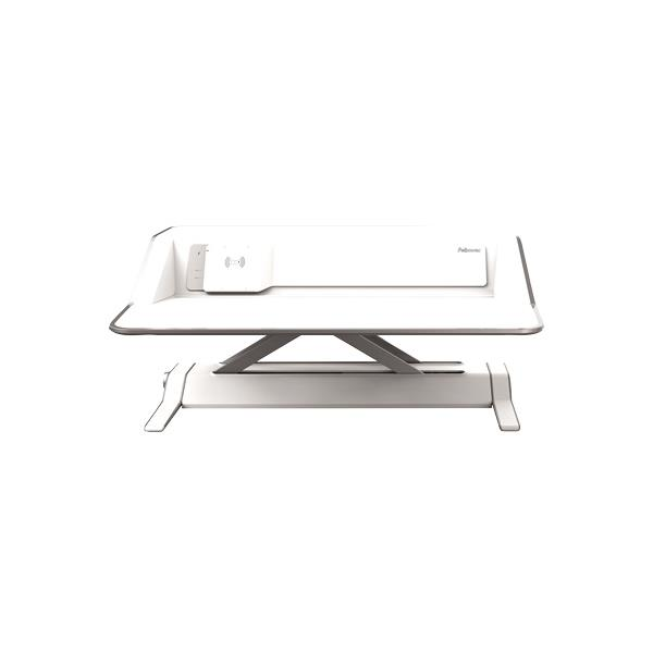 Fellowes Lotus DX Sit-Stand Workstation - White