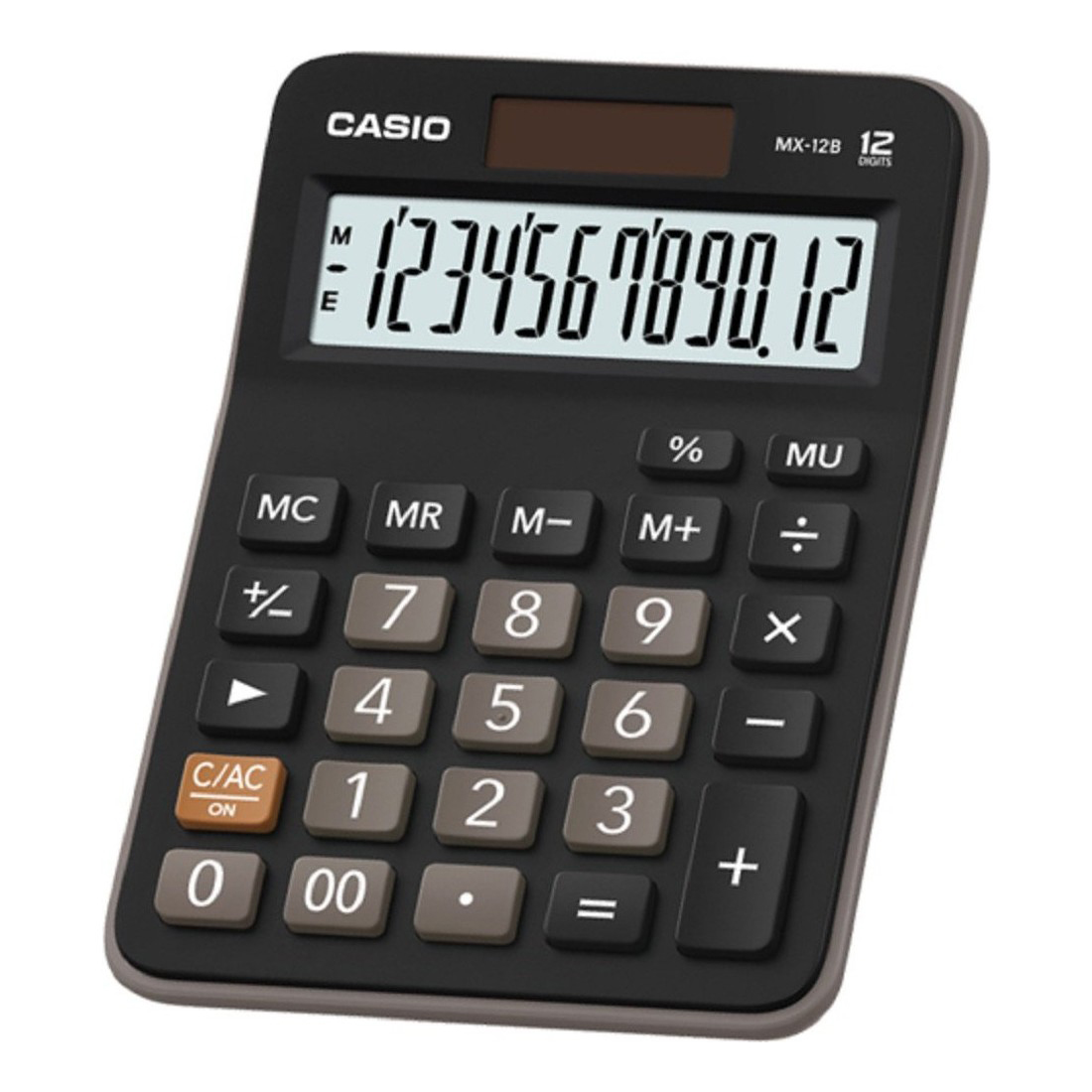 Casio MX-12B Calculator - Black