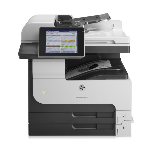 HP LaserJet Enterprise M725dn All-in-One Monochrome Laser Printer