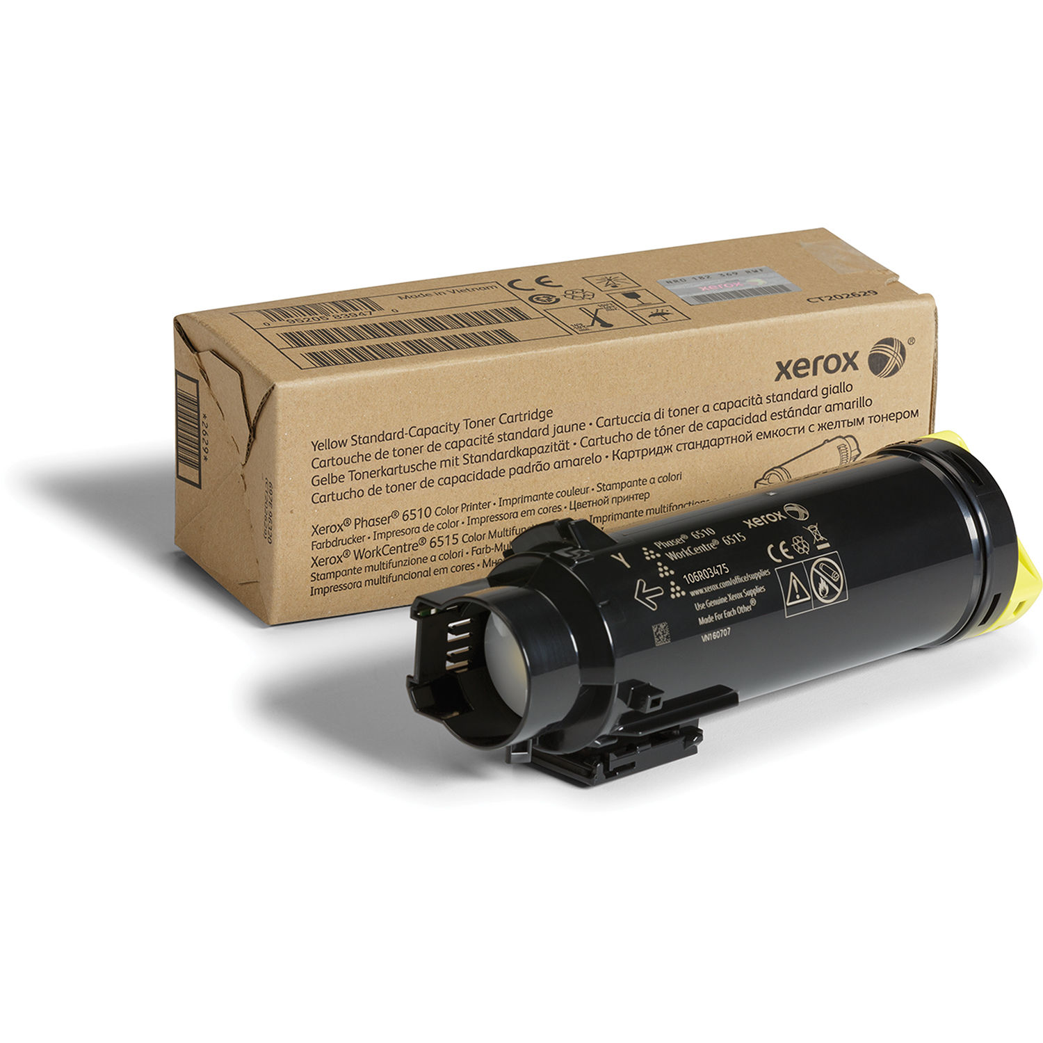 Xerox 106R03475 Toner Cartridge - Yellow