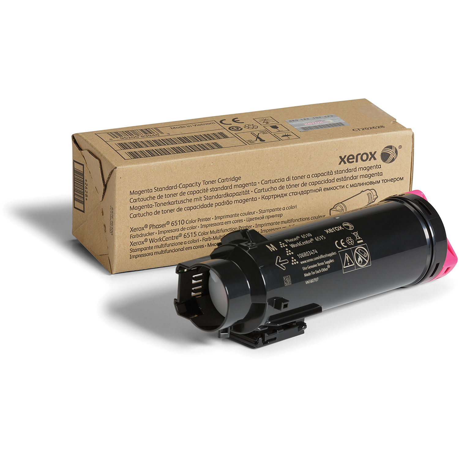 Xerox 106R03474 Toner Cartridge - Magenta