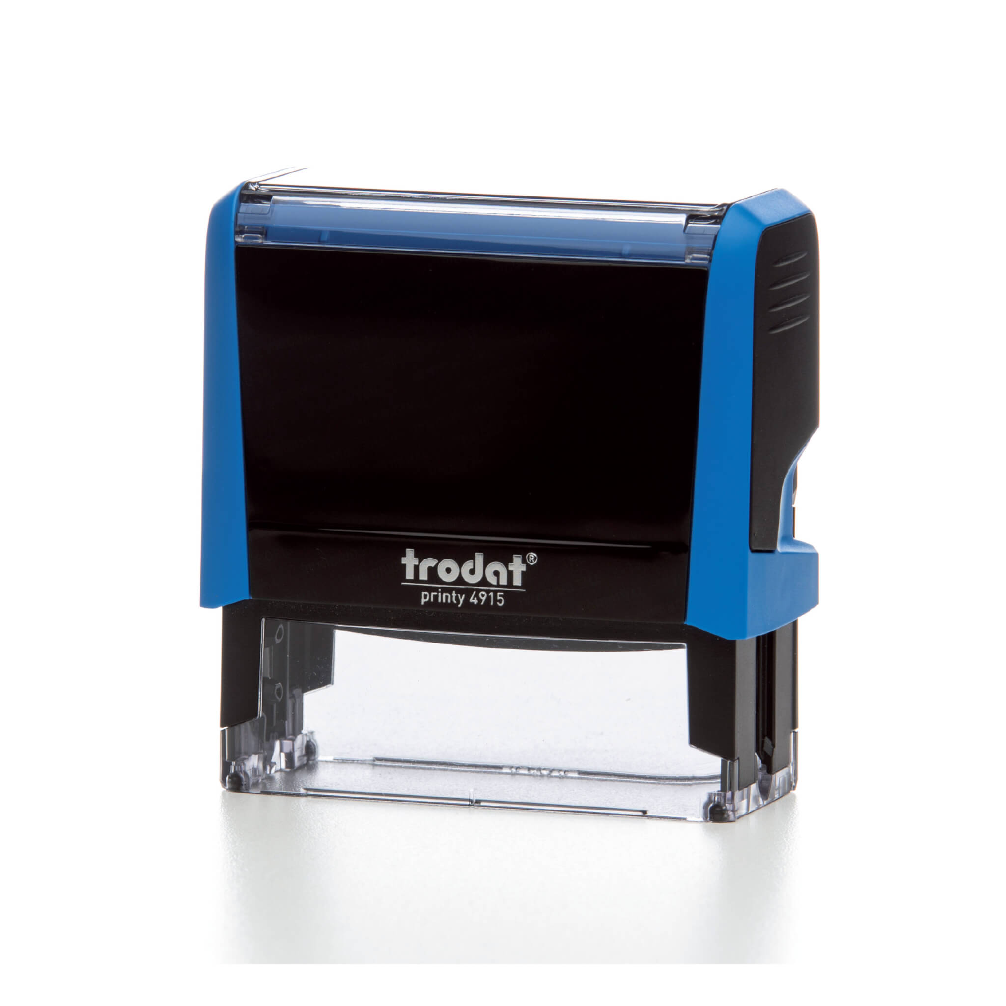 Trodat Printy Self-Inking Date Stamp with Text RECEIVED - Blue