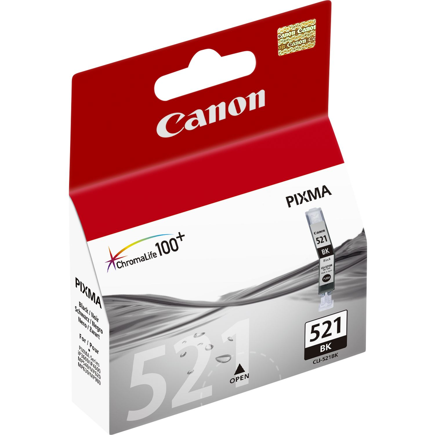 Canon CLI-521 Ink Cartridge - Black