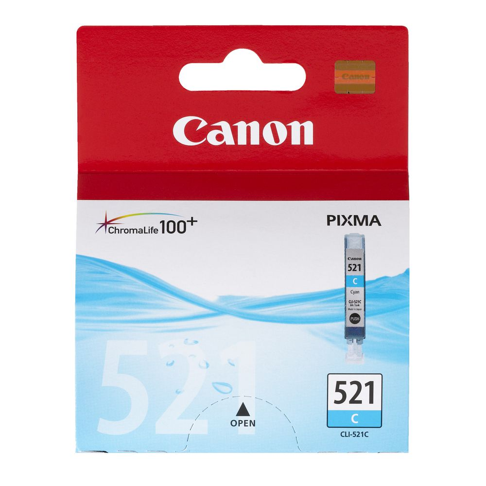 Canon CLI-521 Ink Cartridge - Cyan