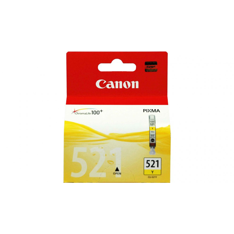 Canon CLI-521 Ink Cartridge - Yellow