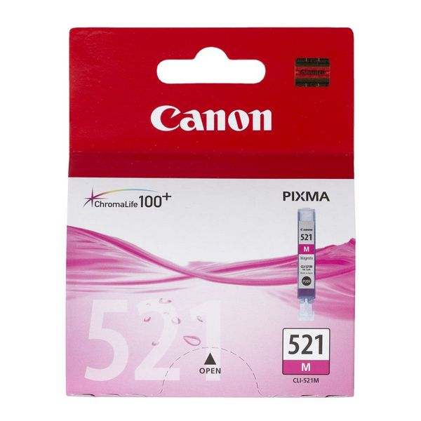 Canon CLI-521 Ink Cartridge - Magenta
