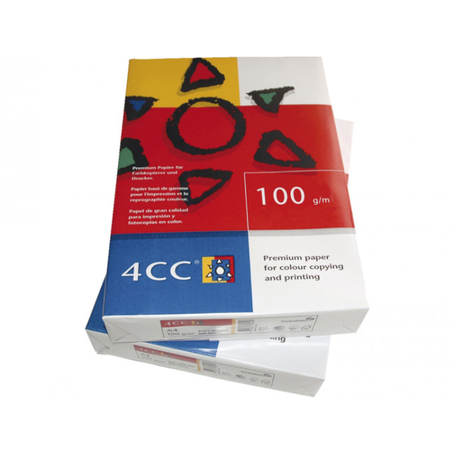 4CC Color Laser Copy Paper A3 100gsm - White (box/4reams)